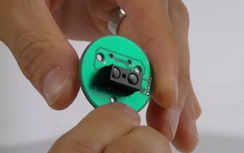 Image showing a component from a modular robot.