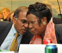 Image of NSF Director Dr. Subra Suresh and Rep. Sheila Jackson Lee.