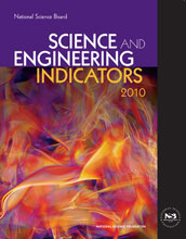 Cover of Science and Engineering Indicators 2010.