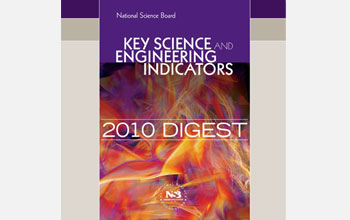 Cover of the Key Science and Engineering Indicators 2010 Digest.