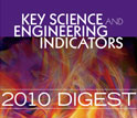 Cover of the Science and Engineering Indicators 2010 Digest.