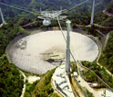 Photo of the Arecibo Observatory in Puerto Rico