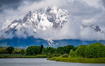 Wyoming's Mount Moran