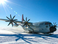 A ski-equipped LC-130 aircraft at NSF's Amundsen-Scott South Pole Station