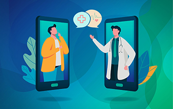 telemedicine illustration