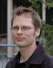 Photo of Daniel Bodony, an assistant professor of aerospace engineering at UIUC.