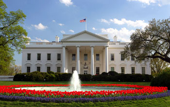 Photo of the White House.