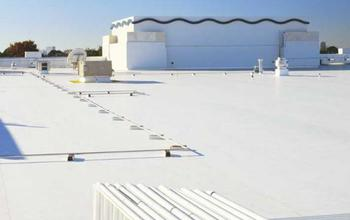 Photo of a white rooftop