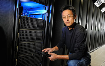 Image of Wu Feng, associate professor of computer science at Virginia Tech.