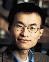Chemist Peidong Yang is the 2007 winner of the National Science Foundation's Alan T. Waterman Award.
