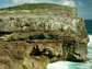 cliff tops in Eleuthera, Bahamas