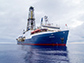 The research drilling vessel JOIDES RESOLUTION