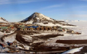 panoramic image of McMurdo Station