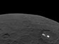bright spots of Occator Crater shine from the surface of Ceres