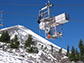 a radon sensor travels to the peak of Mount Bachelor on a ski lift