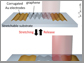 stretchable photodetector with photoresponsivity