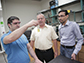 UW�Madison engineers examine a vial of furfural