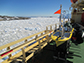 The Wave Glider near Antarctica�s Palmer Station