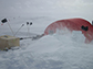 blustery conditions at the West Antarctica ice sheet divide