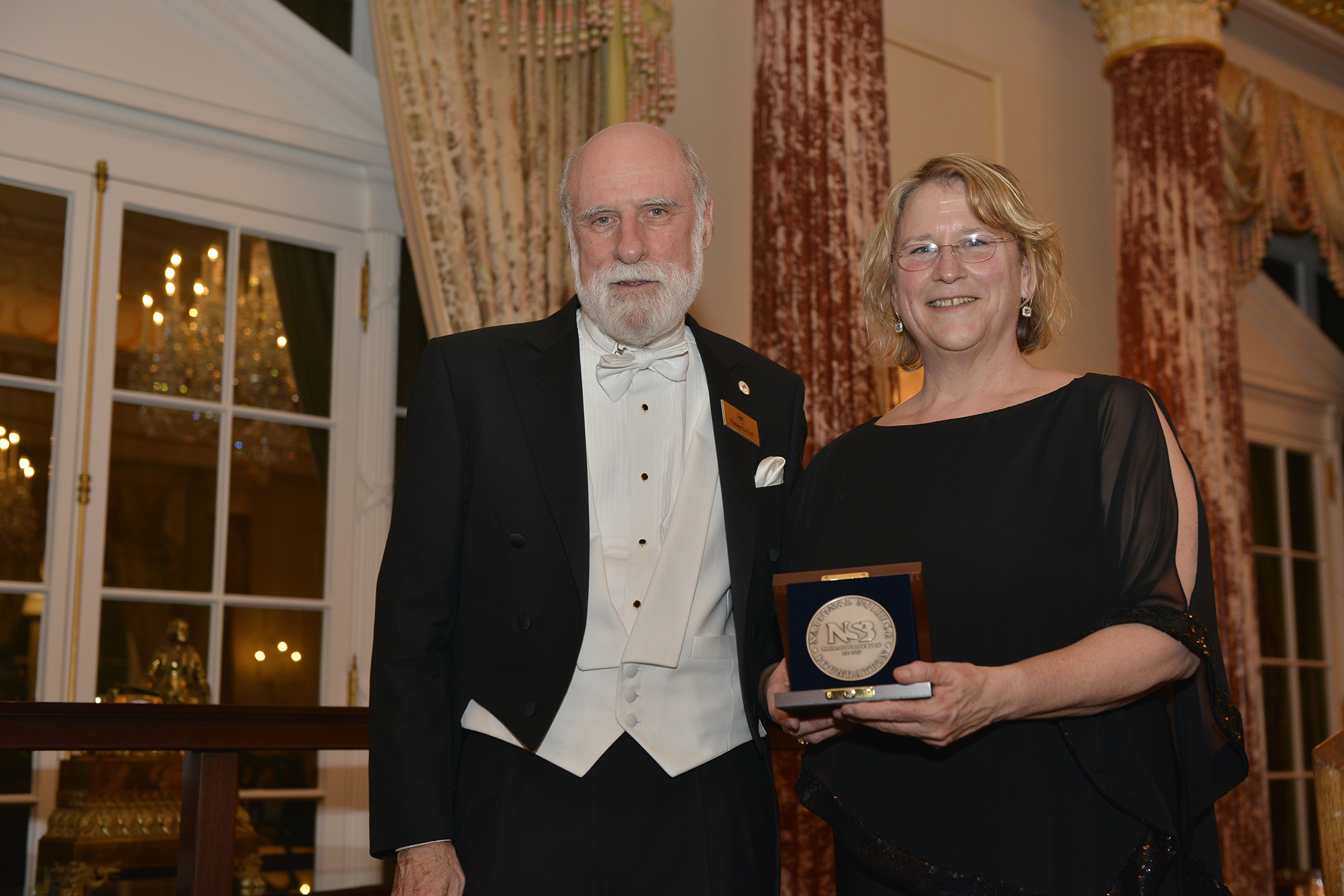Image of Vinton Cerf and Peg Brandon