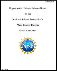 Report to the NSB on the National Science Foundation's Merit Review Process Fiscal Year 2014 - Slide2