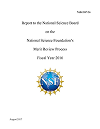 Report to the NSB on the National Science Foundation's Merit Review Process Fiscal Year 2016 - Slide2